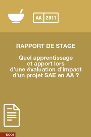 Evaluation impact SAE AA